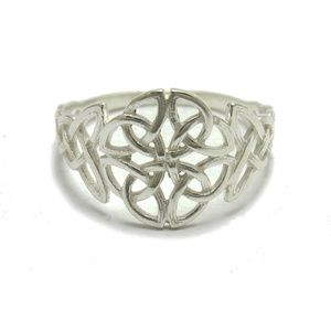 Sterling Silver Celtic ring solid .925 Silver